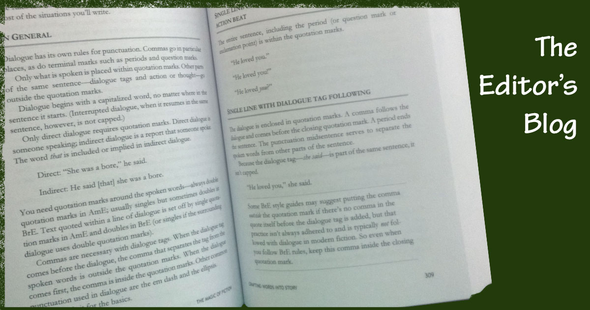 Margins and Font for Print Books | The Editor's Blog
